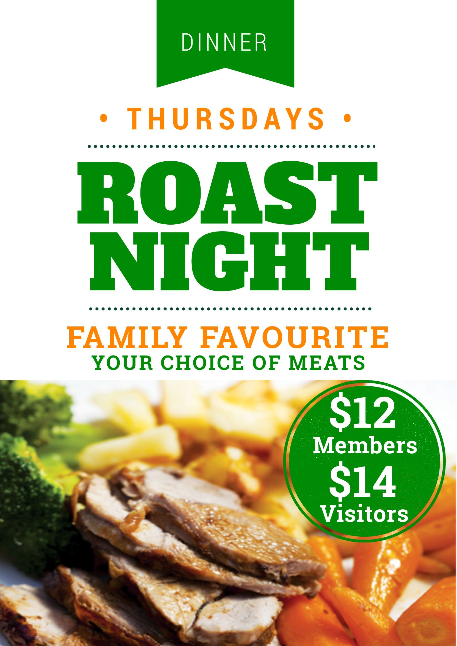 roast night poster