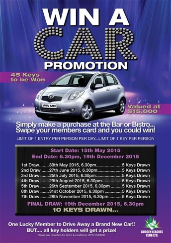 WIN A CAR Promotion